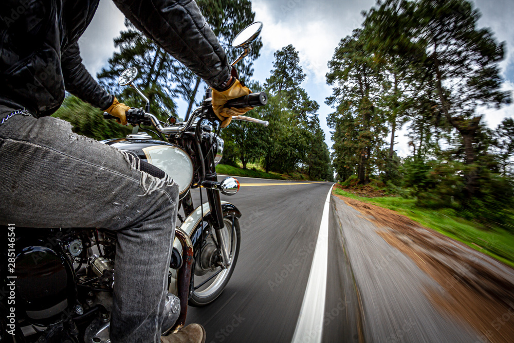 Fototapety, obrazy: Biker