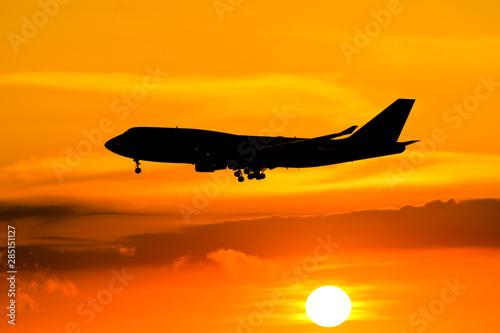 Papel de parede Boeing 747 Sunrise