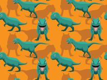 Dinosaur Carnotaurus Cartoon B...