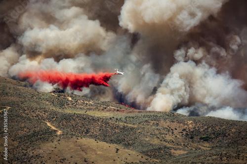 Wildfire in foothills near Boise Idaho #285165967