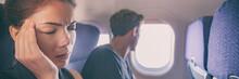 Sick Fear Of Flying Inside Pla...