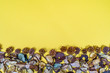 canvas print picture - Dried flowers