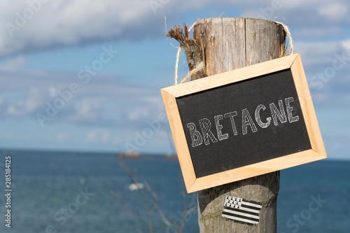 Canvas-taulu Das Meer und die Bretagne