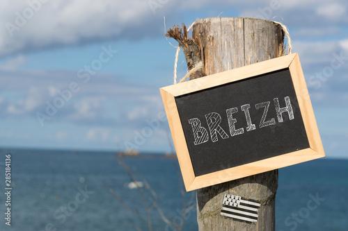 Bretagne und das Meer Fototapet