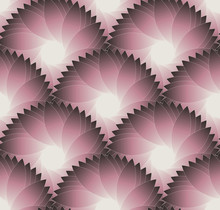 Flower Scales Seamless Old Pink