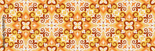 Azulejos ceramic tile design Canvas Print