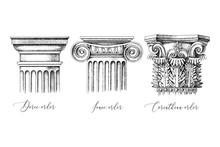 Architectural Orders. 3 Types ...