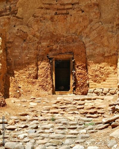 Canaanite Gate Tel Dan Canvas Print