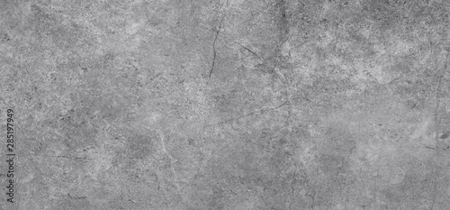 Grey cement texture background . wall tile design - 285197949