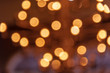Abstract background for elegant christmas backdrop .Christmas festivals and happy new year on blurred golden bokeh .