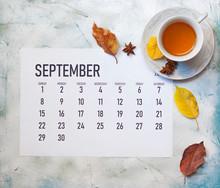 Monthly September 2019 Calendar