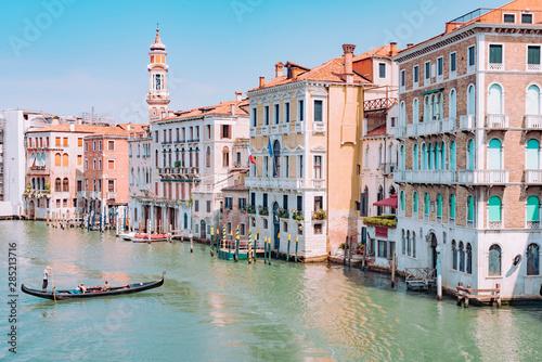 Venice the city of love invaded by tourists Fototapeta
