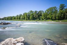 Longtime Exposure Of River Wit...