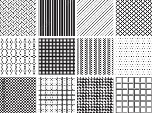 Photo  Seamless Geometric Patterns