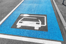 Parking And Charging Place For Electric Cars