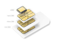 Set Of SIM Cards. Vector Illus...