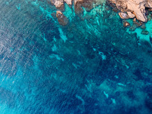 Mediterranean Sea With Turquoi...