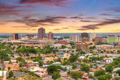 Albuquerque, New Mexico, USA Cityscape Wallpaper Mural