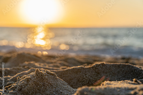 Photo Rodia Beach in Messina - View of the Aeolian islands in Messina