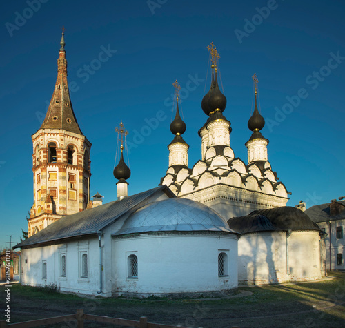 Church of Antipas (Antipiyevskaya) of Pergamum and church of Saint Lazarus (Lazarevskaya) at Suzdal Wallpaper Mural