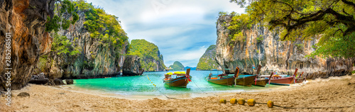 Blue water at  Lao Lading island, Krabi Province, Thailand - 285268501