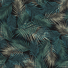 Abstract Exotic Plant Seamless...