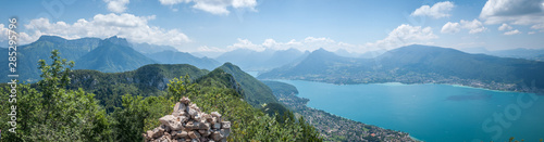Photo Panorama du lac d'Annecy