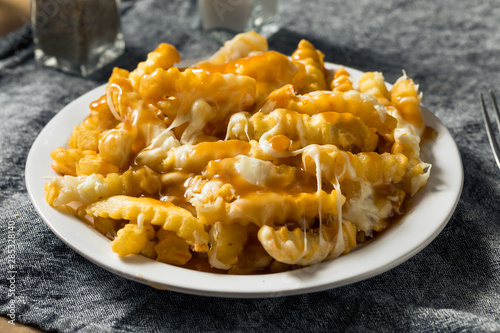 Fotomural  Homemade Jersey Disco French Fries
