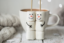 Hot Chocolate And Marshmallow ...