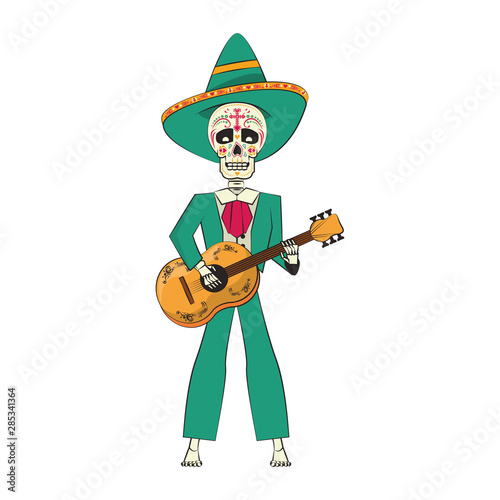 Türaufkleber Wilder Westen mexican culture mexico festival cartoon