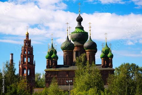 Obraz na plátně Saint John the Baptist church in Tolchkovo