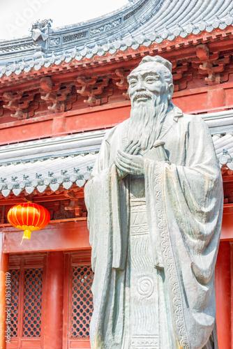 Valokuvatapetti Confucius statue