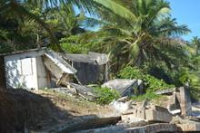 Beach House Hurricane Destroy