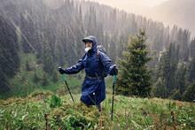 Man In The Raincoat Outdoor