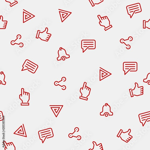 like-comment-share-subscribe-and-thanks-for-watching-seamless-red-icon-on-white-background