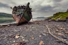 Shipwreck On The Island Of Ker...