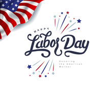 Happy Labor Day Hand Lettering...
