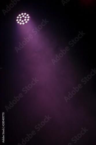 Carta da parati  Theater light on black background