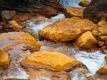 Smooth Flowing Water Falling O...