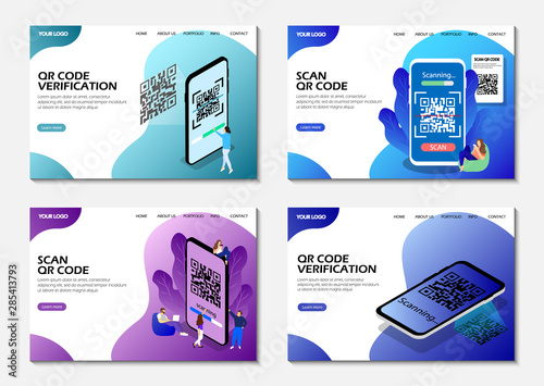Landing pages Canvas-taulu