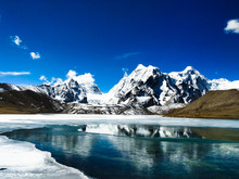 Gurudongmar Located In North Sikkim, Highest Lake Of India At 17800ft