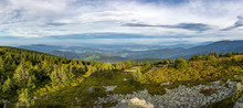 Panorama From Summer Mountain ...