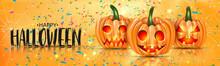 Halloween Banner Or Website He...