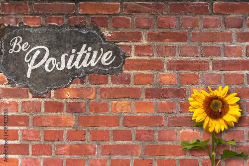 Vászonkép  Positive Thinking Concept
