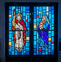 Stained Glass In Christian Church, Freeport, Grand Bahama, Bahamas