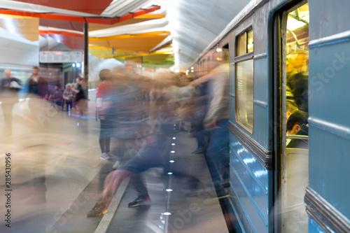 Photo Passenger flow concept