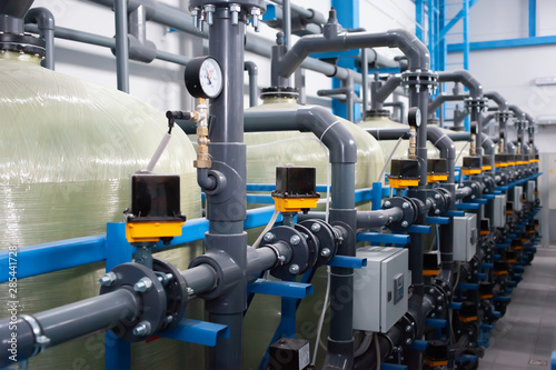 Stampa su Tela  Automation of the industrial water treatment system