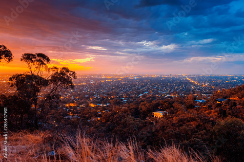 Adelaide viewed from Windy Point