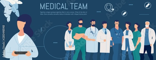 Cuadros en Lienzo Woman Looking for Personal Medical Team Online