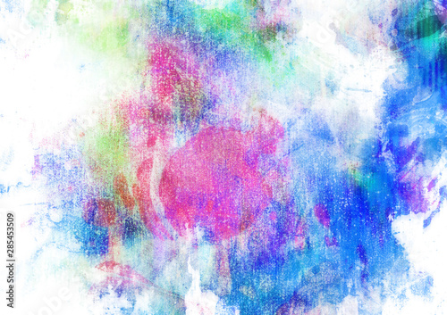 Obraz na plátně  Grungy colorful background